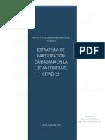 Estrategia contra el Covid - Instituto de Gobernabilidad López Follegatti