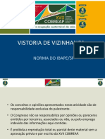 Vistoria de Vizinhança Norma do IBAPE-SP
