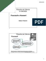 Filosofia da Ciência aula 13 Foucault e Husserl.pdf