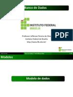 Modelos de dados e esquemas