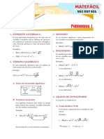 Polinomios I - II