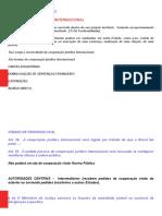 COOPERAÇÃO JURÍDICA INTERNACIONAL PDF