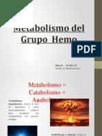 Metabolismo Hemo