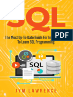 SQL The Most Up-To-Date Guide For Intermediate To Learn SQL Programming