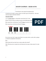 #3 MAJOR and MINOR CHORDS + BASS NOTE