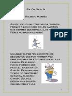 Ratón García con actividades