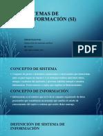 SISTEMAS DE INNFORMACIÓN (SI)