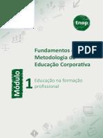 Modulo 1 - Educação na formação profissional