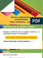 Calculo combinatorio e probabilidades - parte 2
