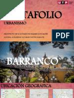 ANÁLISIS URBANO DE BARRANCO