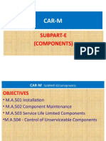CAR-M SUBPART E