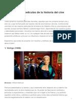 Las 70 mejores películas de la historia del cine - SuperAficionados