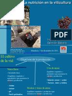 La nutrición en la viticultura