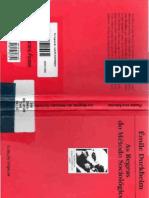 As Regras do Método Sociológico - Émile Durkheim