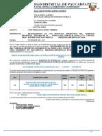 INF-139 - CONFORMIDAD DE SERVICIO DE INSTALACIONES SANITARIAS ORDEN 936