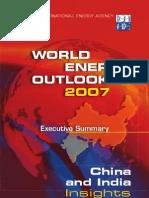 India China IEA report