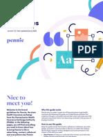PHIEA Pennie Brand Guide