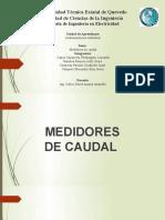 Medidores de caudal modificado
