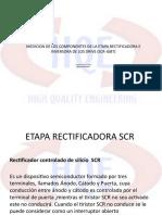 PRESENTACION DE MEDICION DE ETAPAS RECTIFICADORA Y INVERSORA