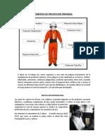 ASPECTOS TECNICOS SOBRE PROTECCION PERSONAL Y MANEJO DE EMERGENCIAS