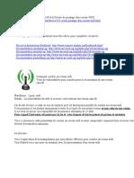 peratage de wifi