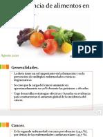 Influencia de alimentos en cáncer.pptx