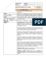 CG-GS-SST-PR-029_V2 Análisis de riesgo de la tarea