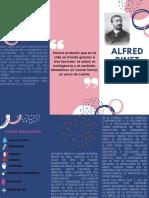 Brochure Alfred Binet