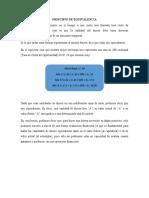 PROYECTOS DE INVERSIÓN  - PRINCIPIO DE EQUIVALENCIA