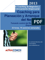 ActionCOACH Pepe Villacis Coaching para Planeacion y Arranque del Negocios 2013 32h