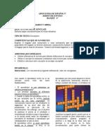 ACTIVIDADES DE REGULARIZACIÓN    MARZO-ABRIL ASIGNATURA DE ESPAÑOL 3º