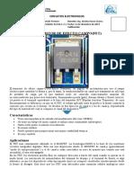 CIRCUITOS ELECTRONICOS transitores