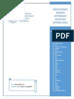 Indicaciones Examen Medicina Interna