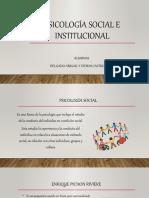 psicologia social e institucional