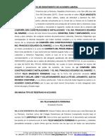 DESISTIMIENTO DE UNA DEMANDA LABORAL