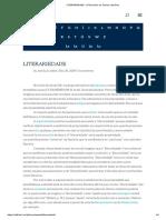 LITERARIEDADE - E-Dicionário de Termos Literários