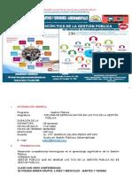 DIPLOMA DE ESPECIALIZACION HERRAMIENTAS TIC DE LA GESTION PUBLICA