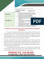 Gestão Ambiental 3 e 4 Sem Elaboração de Um Plano, Simplificado, De Recuperação de Ambientes Degradados