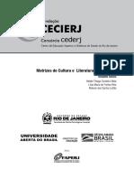 Matrizes de Cult e Lit Hispanicas - CEDERJ
