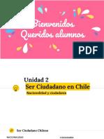IV Medio - Unidad 2 Ser ciudadano en Chile