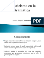 Historicismo - Gramatica