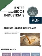 UNIDADE 2 TRATAMENTO DE EFLUENTES INDUSTRIAIS LÍQUIDOS