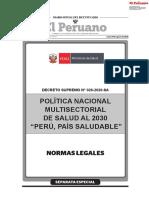 Politica Nacional Multisectorial de Salud Al 2030