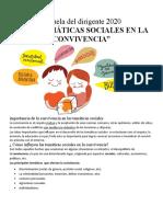 TEMATICAS SOCIALES EN LA CONVIVENCIA