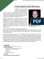 Wiles's proof of Fermat's Last Theorem - Wikipedia.pdf