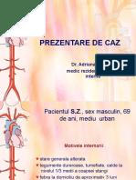 PREZENTARE DE CAZ- ADRIANA