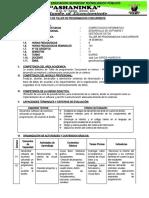 SILABO 2020 - TALLER DE PROGRAMACION CONCURRENTE