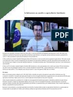 2020-08-29-35-Senadores criticam veto de Bolsonaro ao auxílio a agricultores familiares — Senado Notícias