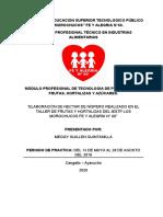 INFORME DE PRACTICA  FRUTAS Y HORTALIZAS Meggy.docx