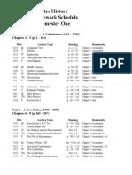 2010-2011_APUSH_Reading-Homework_Schedule